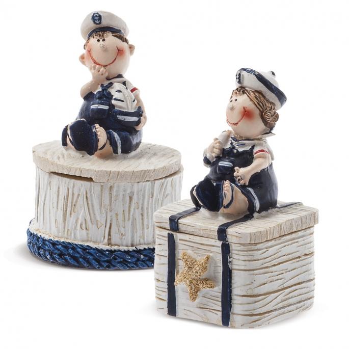 Μπιζουτιέρα ναυτάκια κωδ.  1348ΑΒ