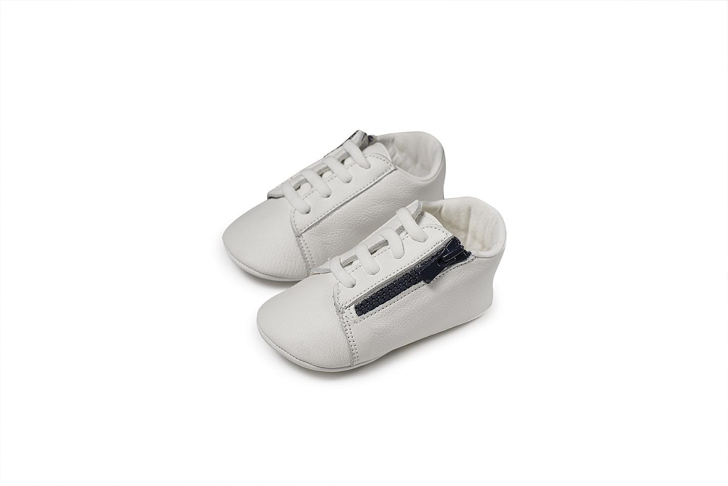 Babywalker MI.1071 μπλε βαπτιστικά παπούτσια αγκαλιάς