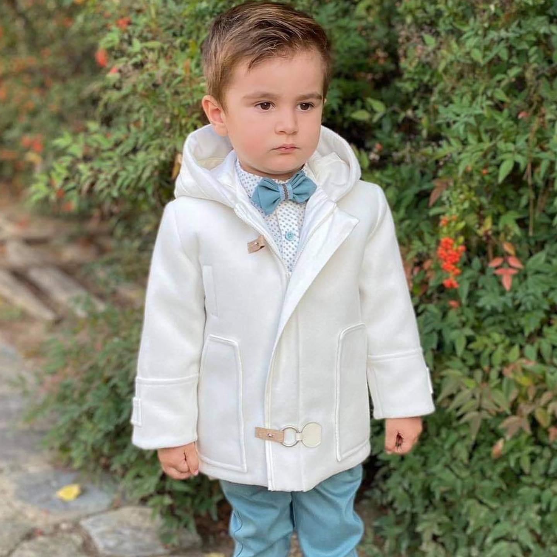 Βαπτιστικό κοστούμι Mi Chiamo  A 4449
