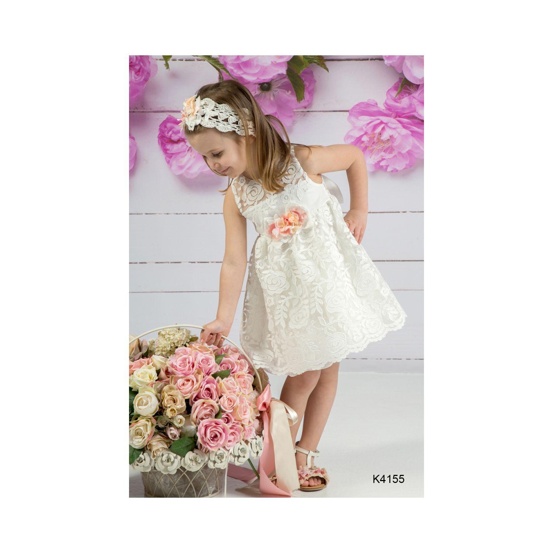 Βαπτιστικό Φόρεμα MiChiamo Κ 4155