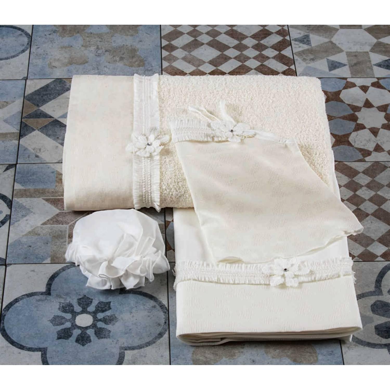 Σετ λαδόπανα βάπτισης Lina Baby κωδ.: 1384