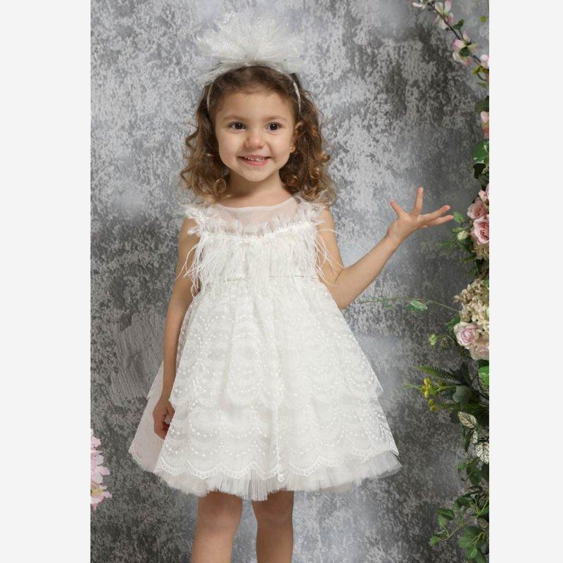 Mi Chiamo Φόρεμα Βάπτισης K4310